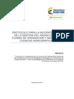 Protocolo Incorp. Gestion Del Riesgo - Pomca