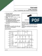 Audio Processor TDA7440D