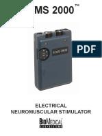 EMS 2000 Biomedical