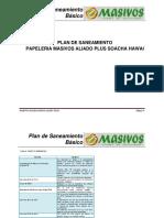 Plan de Sane Masivos