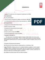 Hermeneutica estudio