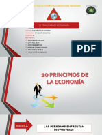 Los Principios de Economía