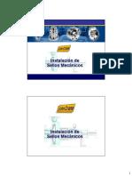 Instalación de sellos mecanicos