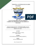 Investigacion Plan de Desarrollo Nacional y Copci