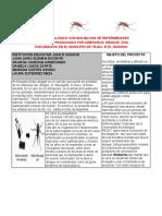 Control Biológico de Enfermedades Tropicales en Zonas Urbanas Plegable