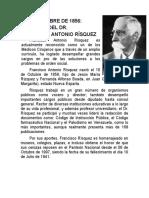 10 de OCTUBRE Francisco Antonio Risquez