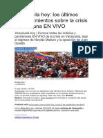 Venezuela Al Inicio de Setiembre 2019