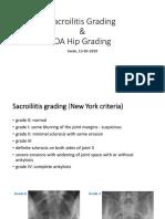 Sacroilitis Grading