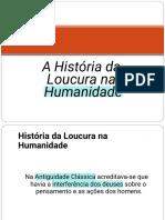 Hist Da Loucura