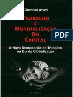 trabalho e mundialização do Capital Giovane Alve