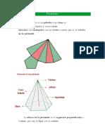 Geometria Piramide