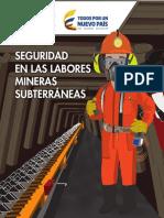 Cartilla Seguridad Labores Mineras Subterraneas