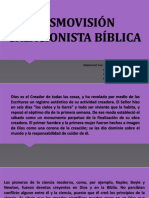 COSMOVISIÓN CREACIONISTA BÍBLICA.pptx