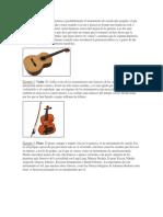 Instrumentos de Cuerda 10 Con Concepto e Imagen