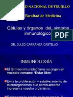 Células y órganos  del  sistema inmunológico