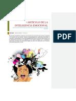 Artículo de La Inteligencia Emocional