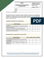 Formato de Evaluación de Los Participantes