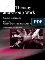 Music Therapy and Group Work_ Sound Company (2002).Marian Jenkyns, Alison Davies, Eleanor Richards