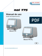 Monnal T75 Manual Usuario v.3.2 ES