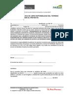 ACTA DE LIBRE DISPONIBILIDAD DE TERRENO.docx