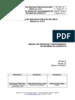 Op Ma 01 Manual de Operacion y Mantenimiento de Sistemas de Acueducto