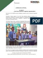 27-08-19 Municipios sonorenses firman acuerdo por la legalidad y seguridad pública.