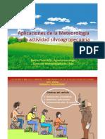Aplicaciones de la meteorologia en la actividad Silvoagropecuaria