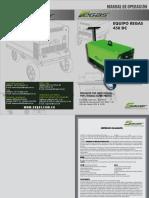 Manual de Operaciones Regas 450 Dc