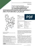 UTF-8'en'[Zeitschrift fr Kristallographie - New Crystal Structures] Crystal structure of 11-((1E1E)-(((ethane-12-diylbis(oxy))bis(21-phenylene))bis(azanylylidene))bis(methanylylidene))bis(naphthalen-2-olato-3OON.pdf