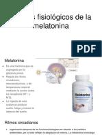 Efectos Fisiológicos de La Melatonina