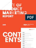 State of Product Marketing Report 2019
