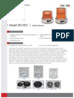 M7109 Model 901-951 Strobe Beacon LR