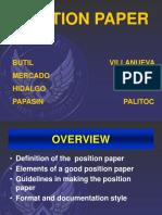 POSITION PAPER.ppt