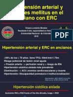 Hipertensión Arterial en El Anciano Con ERC