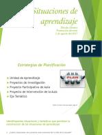 Situaciones de aprendizaje corregido PRESENTACION PROFESORES DEL NIVEL SECUNDARIO  ORIGINAL 2 DE AGOSTO DEL 2017.pptx
