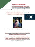 Falsa Devoção - Divina Misericórdia