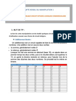 Compte Rendu Du Manipilation 1