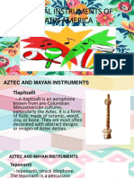Musical Instruments of Latin America