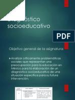 Diagnóstico socioeducativo 1