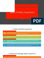 Types of Safety Inspections