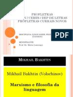 Bakhtin Filosofia Da Linguagem
