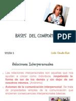 Bases Del Comportamiento-clase 3