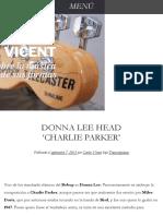 Donna Lee Head 'Charlie Parker' | El Blog de Carlos Vicent.pdf