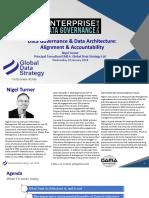 Edgo2017 Data Governance Data Architecture