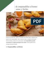 3 Recetas Preparar Empanadas