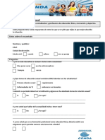 Cuestionario Salud Sexual