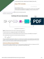 Anti-Windup Control Using a PID Controller - MATLAB & Simulink - MathWorks América Latina
