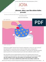 Cookie notice_ informar, obter e por fim coletar dados pessoais - JOTA Info.pdf
