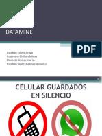 2° Clase Datamin hasta proceo estadistico.