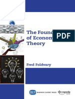 (Economics Collection) Foldvary, Fred E - The Foundations of Economic Theory-Business Expert Press (2015)
